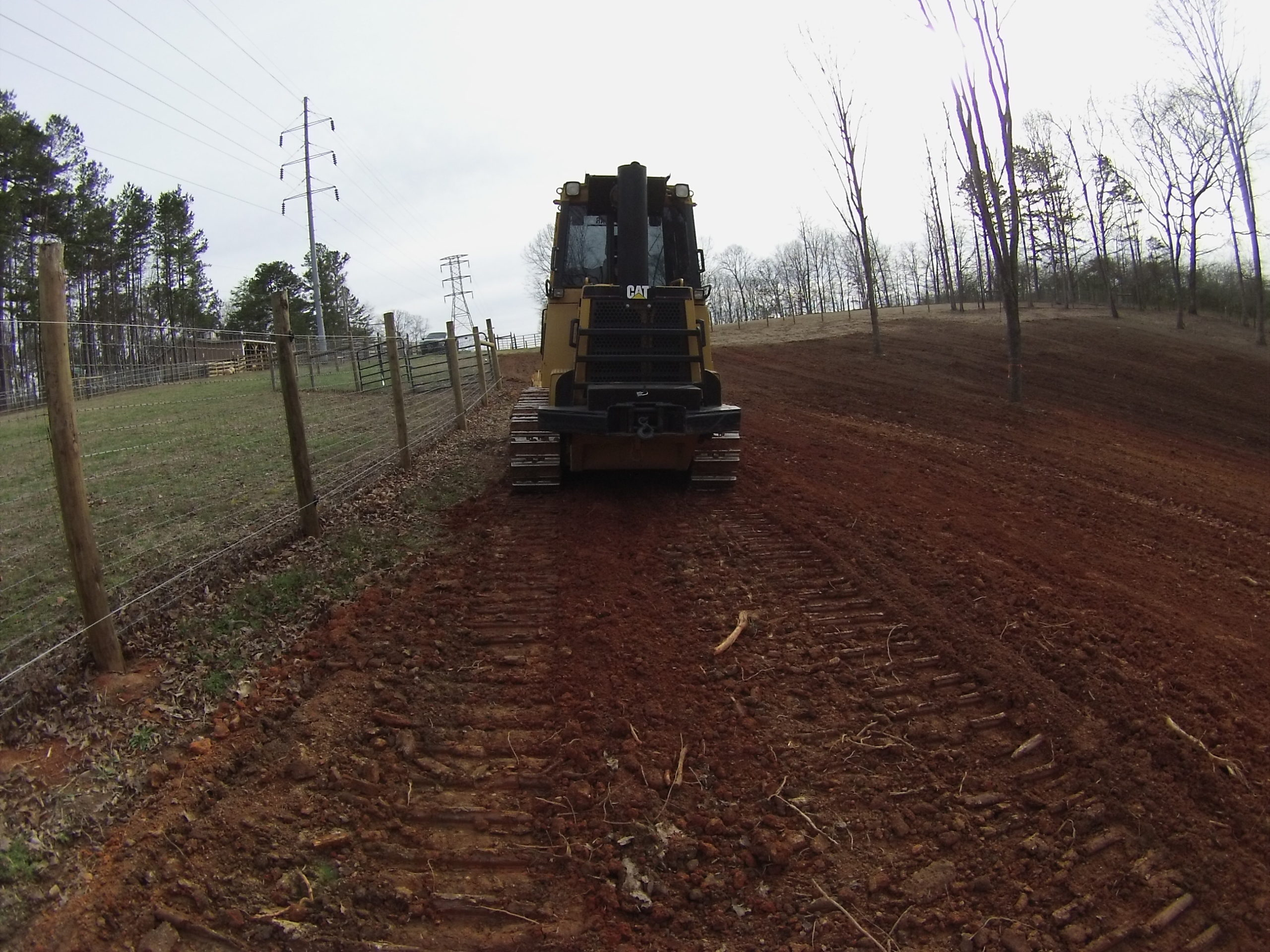 Grading For Pasture