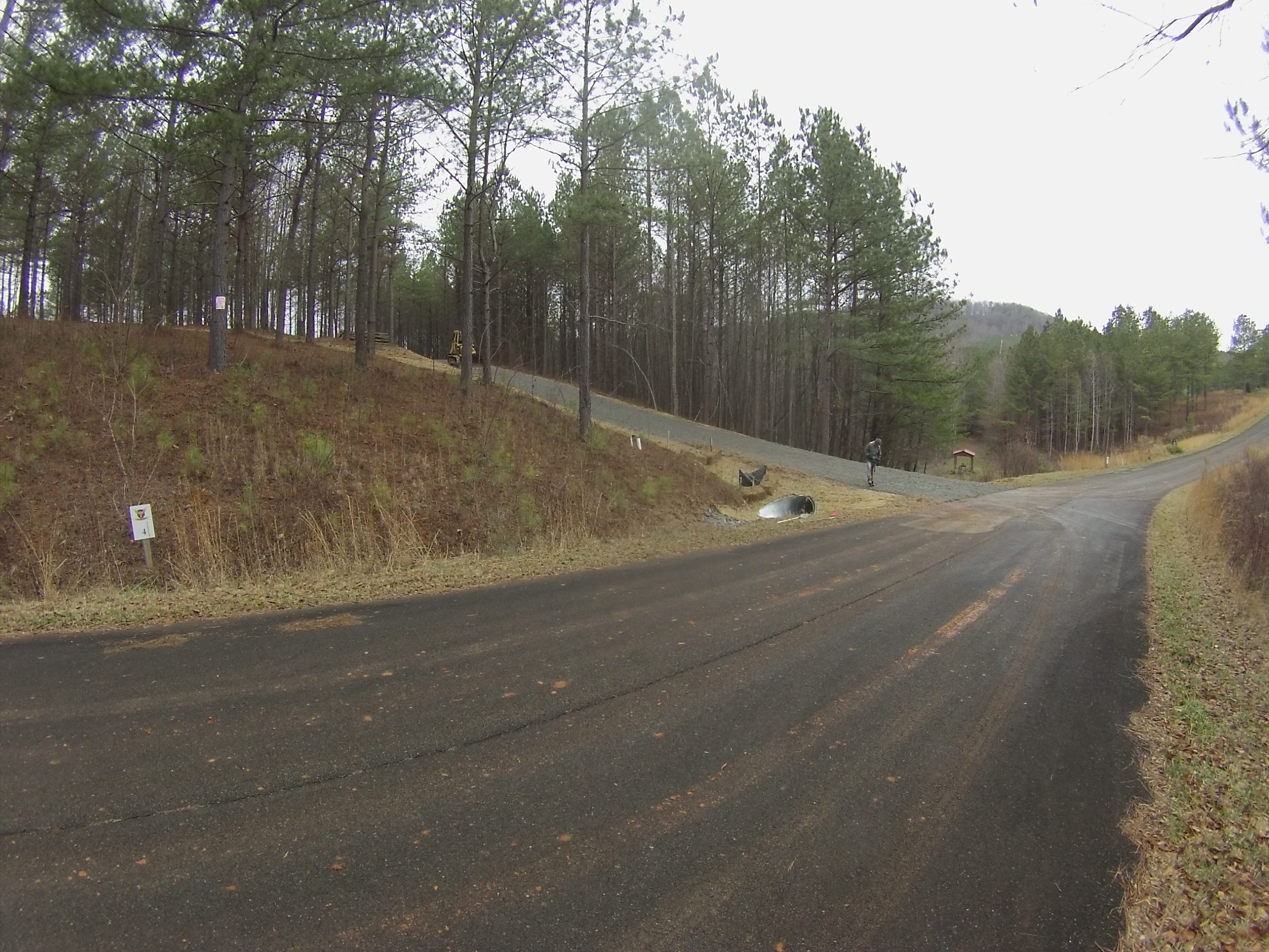 gravel driveway installed